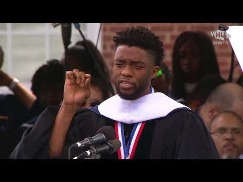 Chadwick Boseman's Howard University 2018 Commencement Speech