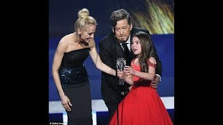 Sobbing Prince, named Best Young Performer at Critics' Choice... then charms new BFF Angelina Jolie