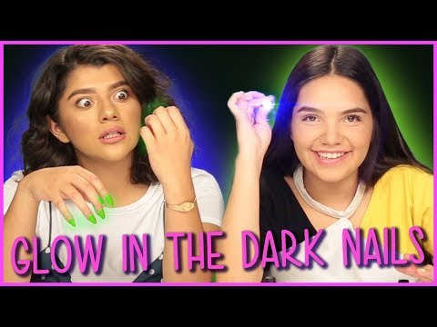 DIY GLOW-IN-THE-DARK NAIL POLISH?! | DIY or Di-Don't w/ Life After Quince Shany & Airam
