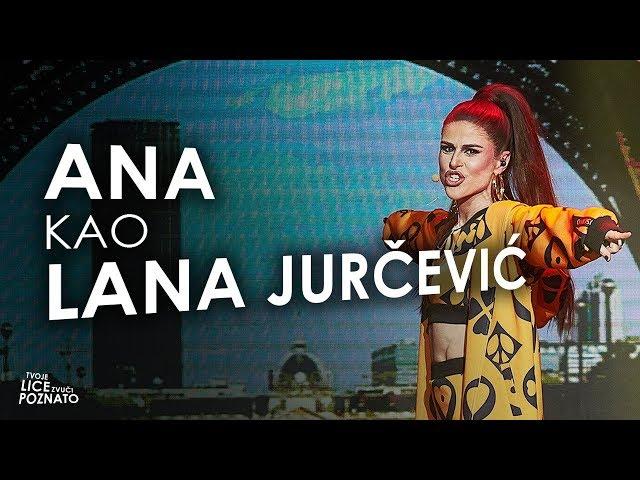 Ana Vilenica kao Lana Jurčević - Kim Kardashian