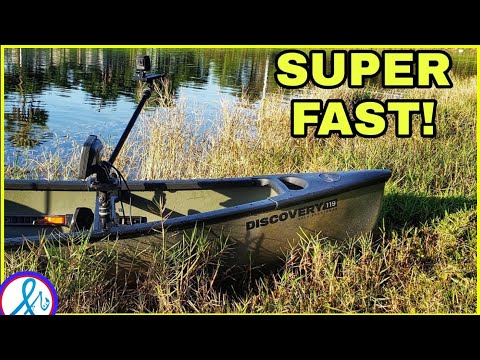 BETTER than a Kayak?! Old Town Discovery 119 Solo Sportsman