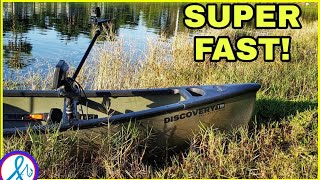 BETTER than a Kayak?! Old Town Discovery 119 Solo Sportsman On The Water Demo