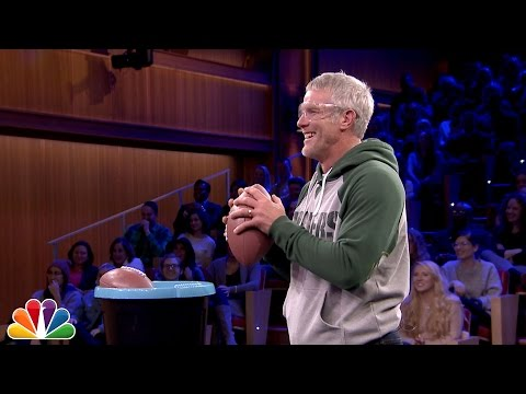 Tonight Show Throwdown with Brett Favre