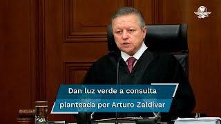 Este lunes, el ministro presidente Arturo Zaldívar presentó la consulta al pleno de la Suprema Corte para analizar la ampliación de su mandato