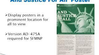 SFMNP Civil Rights Training Video