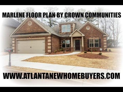 marlene floor plan built by crown communities youtube