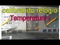 Calibrando relógio  temperatura do Kadett GLS