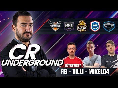 Especial CRL! Entrevista a Fei, Mikel04 y Alejandro Villi | CR Underground #10