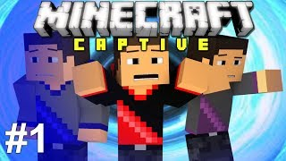 Video Minecraft: Captive! Ep. 1 - WE ARE TRAPPED! download MP3, 3GP, MP4, WEBM, AVI, FLV September 2017