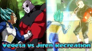 Vegeta vs Jiren! Reenacting Epic Fights! - Dragon Ball Xenoverse 2