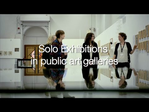 How the Art World Works: Solo Exhibitions in Public Art Galleries_