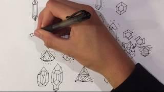 [mac] HOW TO DRAW DIAMONDS, GEMS, CRYSTALS