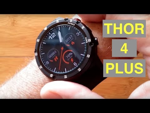 3a8af3fba53 ZEBLAZE THOR 4 PLUS 4G Android 7.1.1 Always Time Display Smartwatch   Unboxing and 1st Look