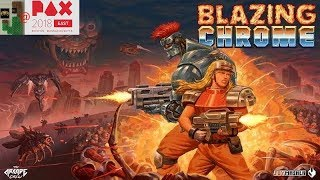 Blazing Chrome Interview @ Pax East 2018