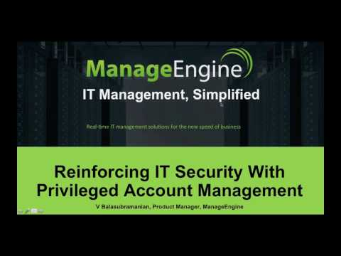 Reinforcing IT security with privileged account management