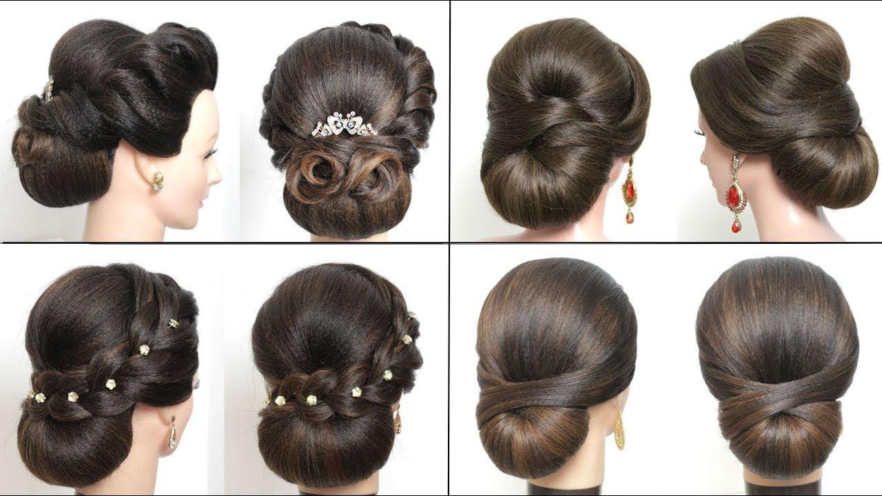 Bridal Low Bun Hairstyles For Long Hair Wedding Updos