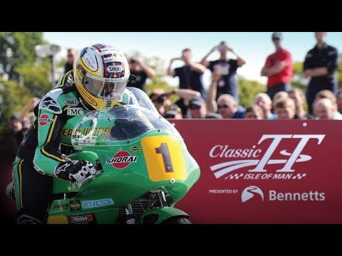 The exclusive official Classic TT 2019 Trailer
