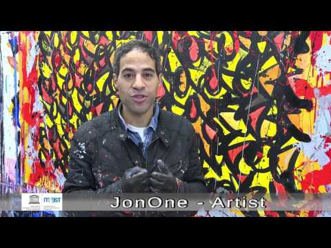 Climate Change: JonOne's call for more imagination