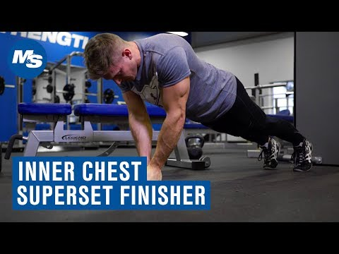 Try This: Superset For Inner Chest Muscle Building (ft. Scott Herman)