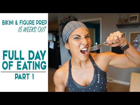 Bikini & Figure Prep // 15WO / Full Day of Eating (Episode 1)