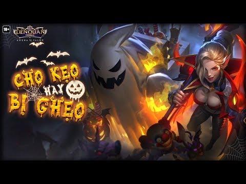 Rợn tóc gáy với màn ma ám của 2 con ma Mina & Azzen'Ka Halloween - Garena Liên Quân Mobile