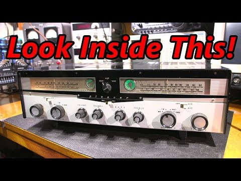 Look Inside This Pioneer Tube Receiver!