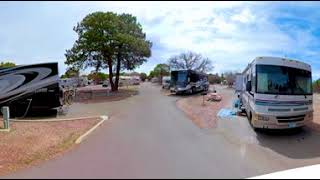 Grand Canyon Trailer Village RV Park at Grand Canyon Arizona - 360 Video Tour 4K CampgroundViews.com