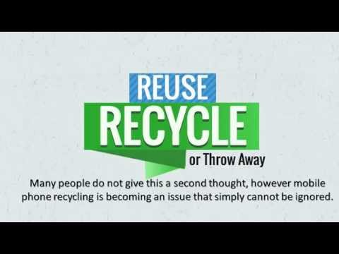 Mobile Phone Recycling or How to Recycle my Phone