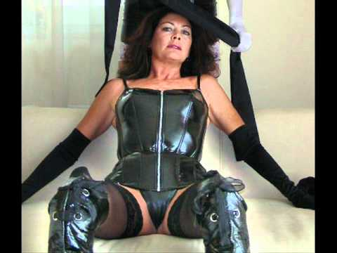 Kinky granny in boots fucks local boy 4