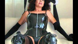 Repeat youtube video Sexy MILF's in PVC outfit and black boots