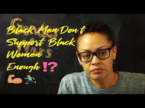 Black Men Aren't Standing Up for Black Women, Says WashPost Writer