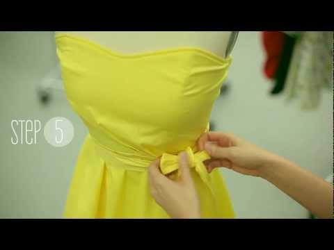 ModCloth How-to: Tying the Perfect Bow