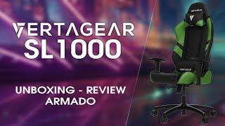Unboxing, Review y armado de la Vertagear SL1000 +SORTEO!!!