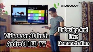 "Videocon DDB Smart TV 40""-Inch Full Review [ HINDI ]"