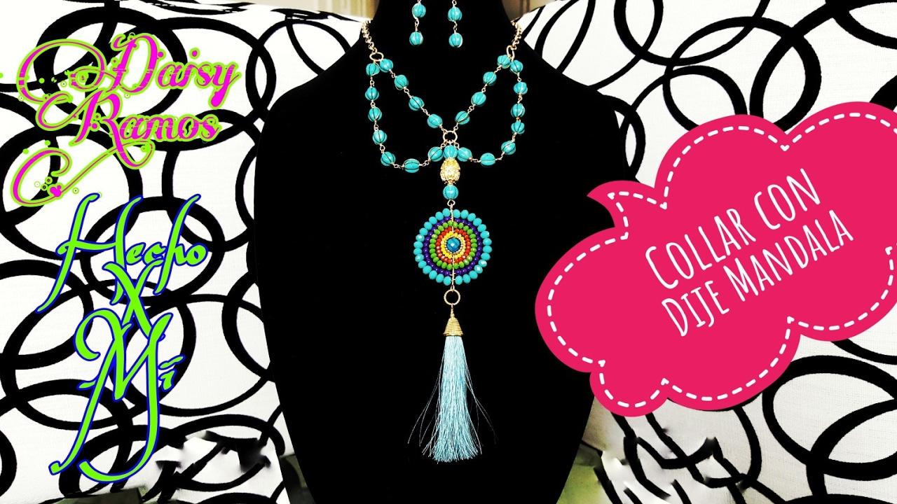 9345f97f940c Collar con Dije Mandala
