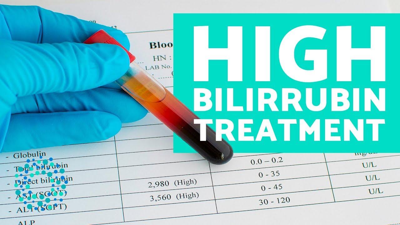 High bilirubin count in adults