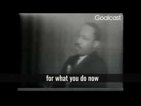 Dr Martin Luther King - Keep moving
