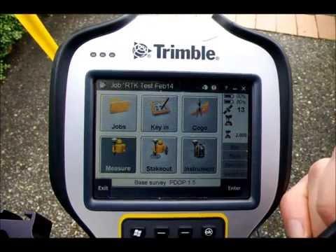 Trimble tsc3
