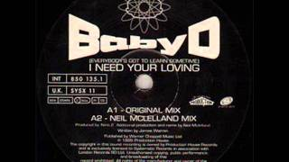 BABY D - I NEED YOUR LOVING (ORIGINAL MIX)