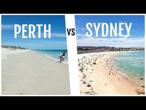 Living in Perth vs Living in Sydney | Expat Life | Say Hello