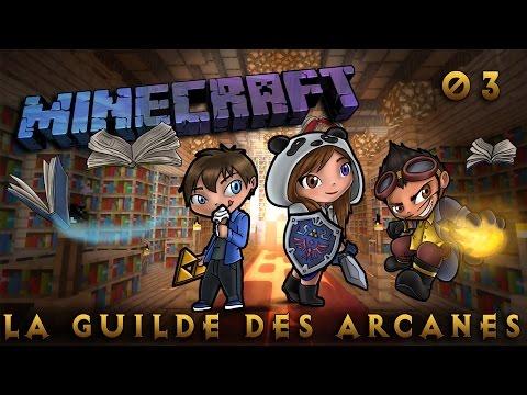 [Minecraft] La Guilde des Arcanes - Episode  3 - Crafting Altar by SianaPanda