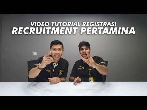 Tutorial Registrasi Recruitment Pertamina