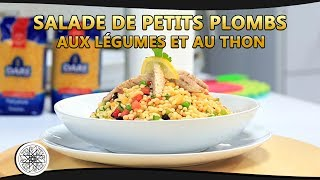 Choumicha : Salade de Petits Plombs aux Légumes et au Thon | شميشة : سلطة المحمصة بالخضر و التونة