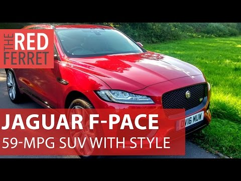 2017 Jaguar F-Pace – 59 mpg, aluminium construction and a set of waterproof keys [Review]