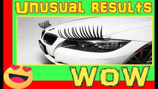 Eyelashes Headlight Decoration  | Cool Car Gadgets