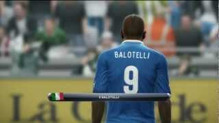 Pro Evolution Soccer (PES) 2013 (Demo) - Italy vs Germany HD Gameplay Playstation 3