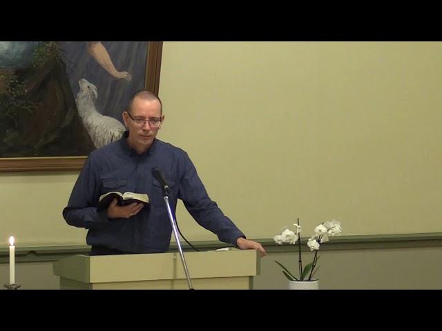 2018.11.10 John Peder Samdal, Profeten Elias, del 2/4
