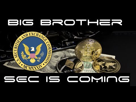 """SEC 'Big Brother""""  Looking To Drop The Hammer on ICO's"""