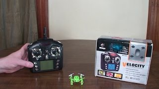 видео Квадрокоптер Wltoys v272