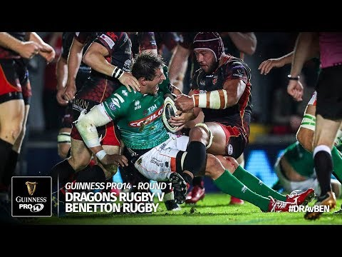 Guinness PRO14 Round 1 Highlights: Dragons v Benetton Rugby